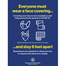 COVID-19 - SFPH - Everyone Must Wear A Face Covering (English)