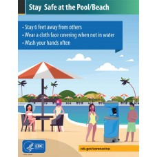 COVID-19 - CDC - Stay Safe at the Pool/Beach (High School)