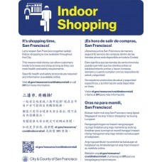 COVID-19 - SFPH - Indoor Shopping (Multilingual)