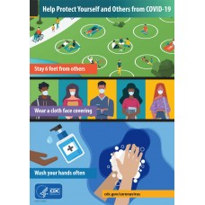 COVID-19 - CDC - Help Protect Yourself and Others from COVID-19 (Youth)