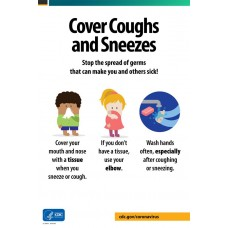 COVID-19 - CDC - Cover Coughs and Sneezes