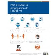 COVID-19 - SCCPH - To Prevent the Spread of COVID-19 (Spanish)