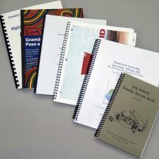 Bound Books - Coil, Comb, Tape, Velo, and Wire-o