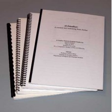 Dissertations & Theses - Coil, Comb, Tape, Velo, and Wire-o Bound