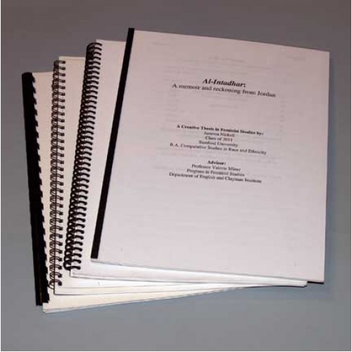 soft bound copies of thesis Soft binding otherwise soft binding is the most common form of binding for the submission of thesis and please select cd copies as your submission.