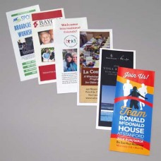 Full Color Brochures and Letters