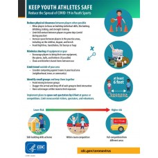 COVID-19 - CDC - Keep Youth Athletes Safe